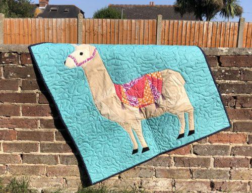 Free FPP Llama Quilt Pattern